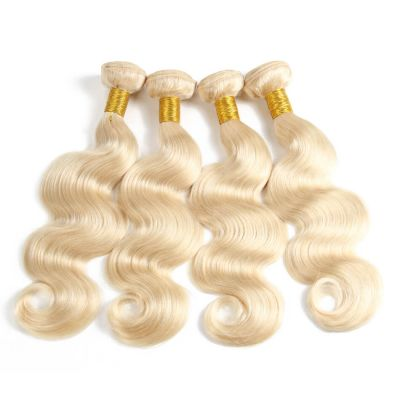 H&F 613 Blonde Human Hair Body Wave 4 bundles