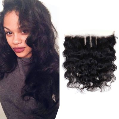 H&F Virgin Human Hair Body Wave 13x4 Lace Frontal