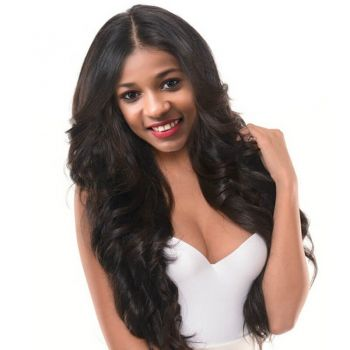 H&F Lace Front Wig Virgin Human Hair Body Wave Pre Plucked with Baby Hair 150% Density Natural Hairline