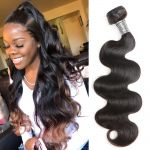 H&F 10A Virgin Human Hair Body Wave 1 Bundle Natural Black