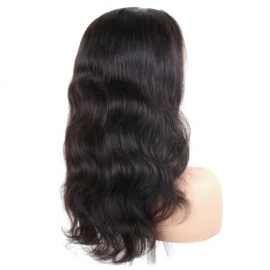 H&F 13X4 Lace Front Wig Virgin Human Hair Body Wave Natural Color