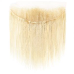 H&F 613 Blonde Straight Human Hair 13x4 Lace Frontal